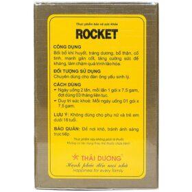 Rocket Thái Dương Tăng Cường Sinh Lý Nam Giới 10 Gói
