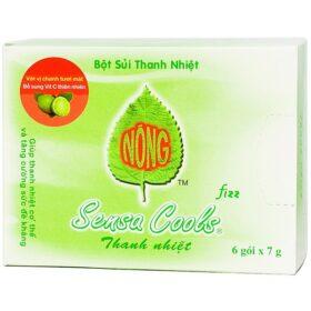 Bột Sủi Thanh Nhiệt Sensa Cools 6 Gói