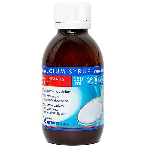 Siro Bổ Sung Canxi Và Vitamin D3 Vitaplus Calcium Syrup + Vitamin D3 150Ml