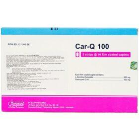 Viên Uống Bảo Vệ Sức Khỏe Tim Mạch Car-Q 100 30 Viên