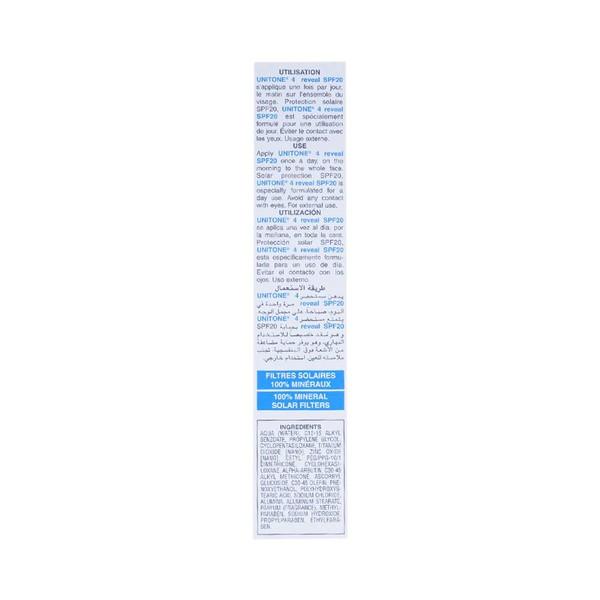 Isispharma Unitone 4 Reveal Spf 20 30Ml