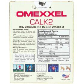 Viên Uống Bổ Sung Canxi Omexxel Calk2
