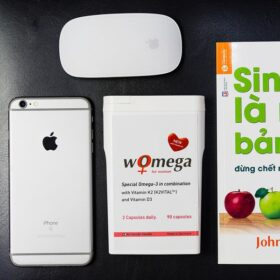 Viên Uống Hỗ Trợ Tim Mạch Nữ Giới Womega For Woman Dao Nordic Health 90 Viên