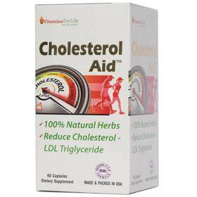Viên Uống Hỗ Trợ Giảm Mỡ Máu Cholesterol Aid Vitamins For Life 60 Viên