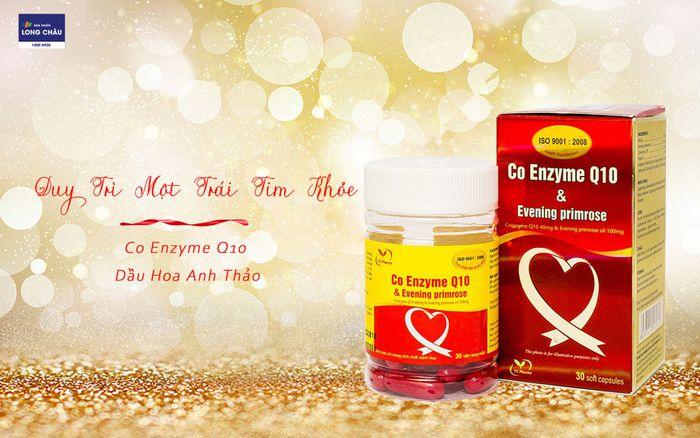Viên uống bổ tim Co Enzyme Q10 & Evening primrose
