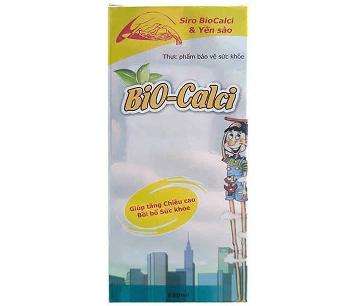 Siro Hỗ Trợ Tăng Chiều Cao Trẻ Em Bio-Calci 120Ml