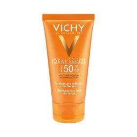 Kem Chống Nắng Không Gây Nhờn Rít Vichy Idéal Soleil Mattifying Face Fluid Dry Touch Spf 50 50Ml