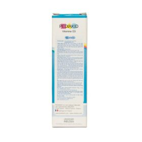 Dung Dịch Uống Bổ Sung Vitamin D3 Cho Trẻ Pediakid Vitamin D3 20Ml