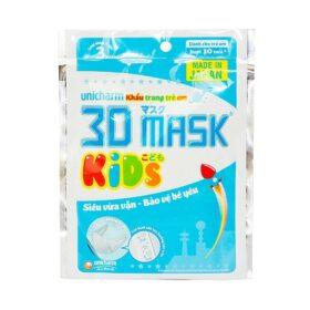 Khẩu Trang Cho Bé Unicharm 3D Mask Kid's 3 Cái