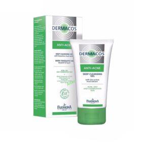 Gel Rửa Sạch Sâu, Ngừa Mụn Dermacos Anti-Acne Deep Cleansing Gel 150Ml