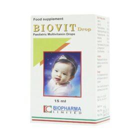 Dung Dịch Uống Tăng Đề Kháng Biovit Drop Biopharma 15Ml