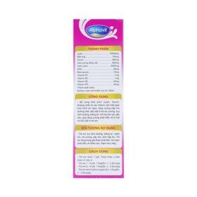 Dung Dịch Uống Ăn Ngon Ngủ Tốt Alphavit Usa Pharma Ống 10Ml
