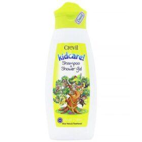 Crevil Kidcare Shampoo And Showergel Jungle Dream 300Ml - Dầu Tắm Gội Trẻ Em 2In1