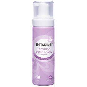 Betadine Feminine Wash Foam 100Ml - Bọt Vệ Sinh Phụ Nữ Hàng Ngày