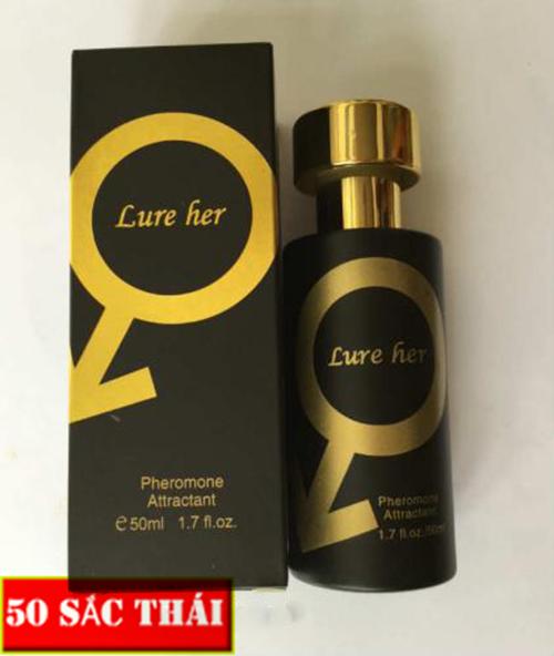 Nước hoa kích dục nữ Lure Her khi dùng nên tìm đọc rõ thông tin hướng dẫn sử dụng, tuân thủ đúng liều lượng, không dùng quá thường xuyên