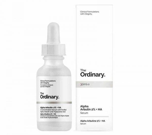 Tinh chất dưỡng trắng mờ thâm nám The Ordinary Alpha Arbutin 2% + HA