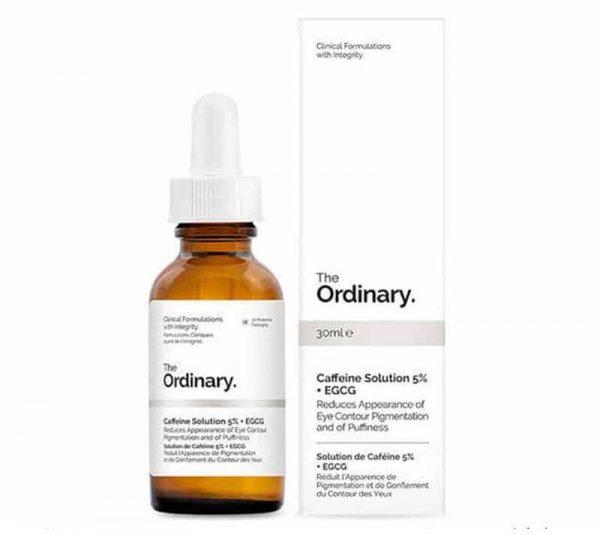 Serum giảm quầng thâm và bọng mắt The Ordinary Caffein Solution 5% + EGCG