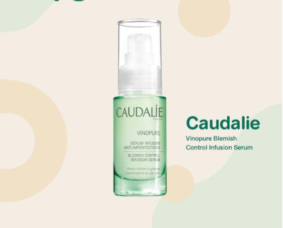 Serum trị mụn cho da dầu Caudalie Vinopure Blemish Control Infusion